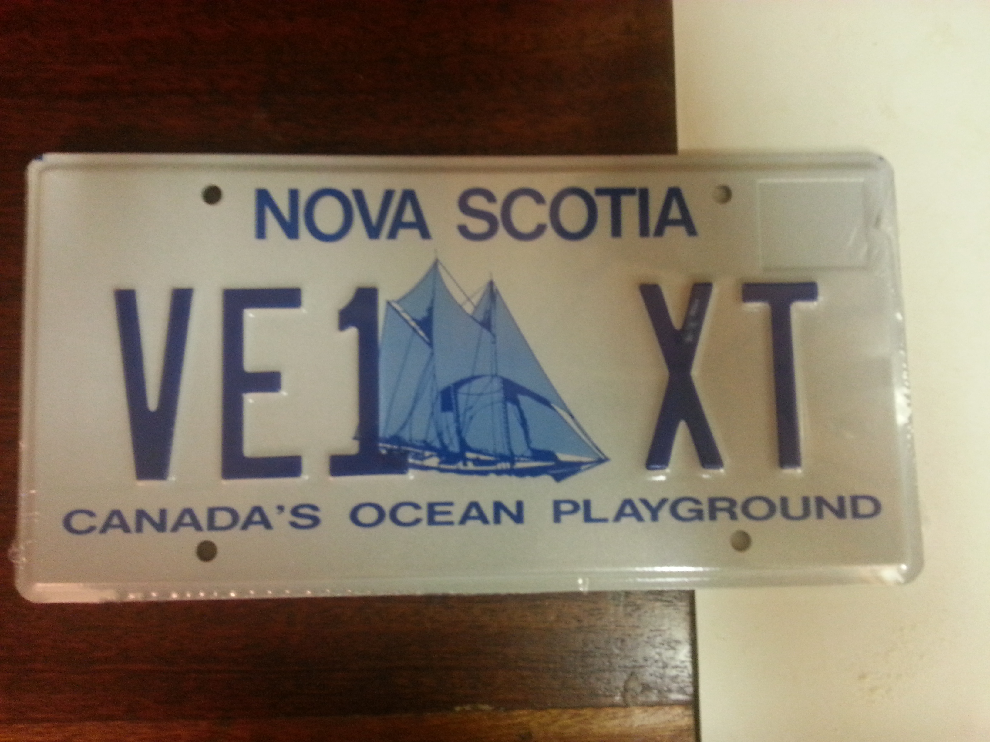 Ve1dcd ve1xt page 2 a technology and amateur radio enthusiast call sign license plates xflitez Image collections
